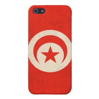 チュニジアの旗の動揺してなiphone 4ケース iPhone 5 ケース
