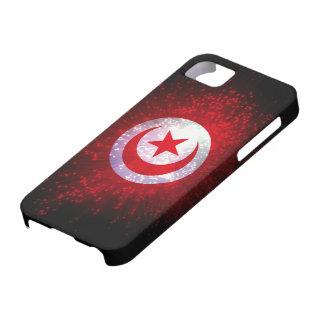 チュニジアの旗の花火 iPhone SE/5/5s ケース