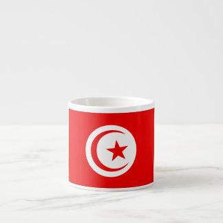 チュニジアの旗 エスプレッソカップ