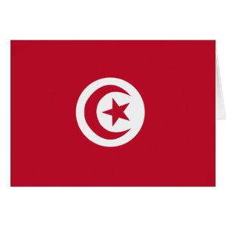 チュニジアの旗 カード
