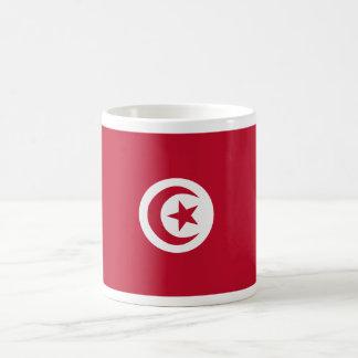 チュニジアの旗 コーヒーマグカップ
