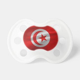 チュニジアの旗 ベビーおしゃぶり