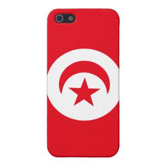 チュニジアの旗 iPhone 5 ケース