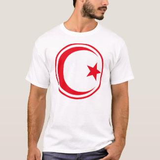 チュニジアの空軍の大活字Roundel Tシャツ