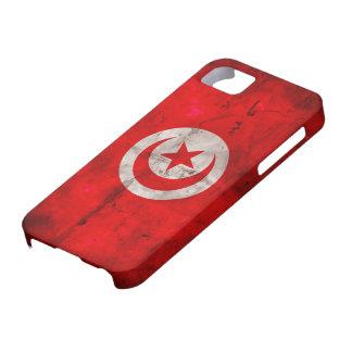 チュニジアの風化させた旗 iPhone SE/5/5s ケース