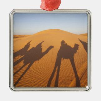 チュニジアのKsour区域、Ksar Ghilane、壮大なエルグ5 メタルオーナメント