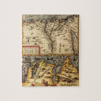 チュニジア及びエジプトの16世紀な地図 ジグソーパズル