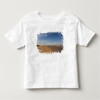 チュニジア、サハラ砂漠の砂漠、Douzの素晴らしい砂丘、薄暗がり トドラーTシャツ