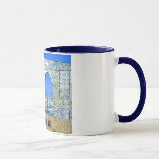 チュニジア   チュニスのモザイク マグカップ