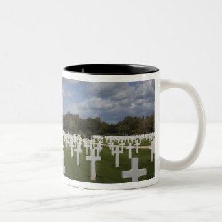 チュニジア、チュニス、カーセッジ、米国の世界大戦2時代2 ツートーンマグカップ