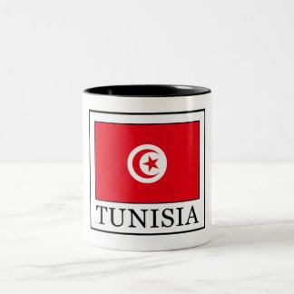 チュニジア ツートーンマグカップ