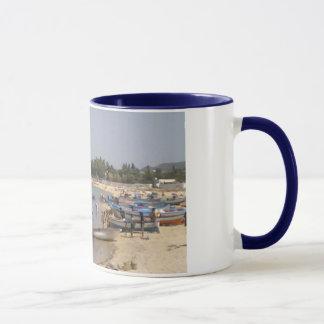 チュニジアHammametのビーチ マグカップ
