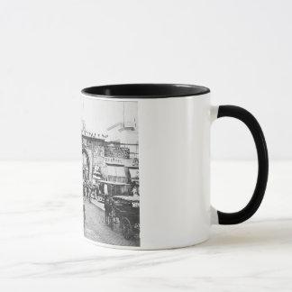 チュニジアPorte Deフランス1895年 マグカップ