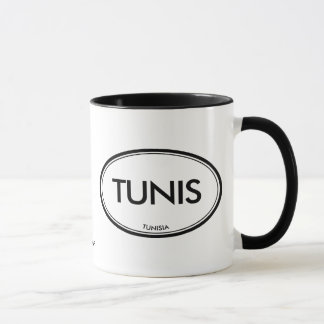 チュニス、チュニジア マグカップ