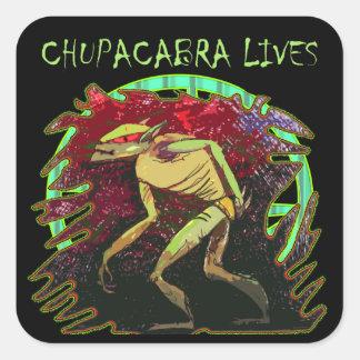 チュパカブラの生命 スクエアシール