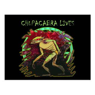 チュパカブラの生命 ポストカード