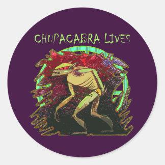 チュパカブラの生命 ラウンドシール