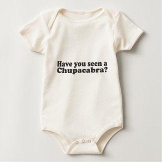 チュパカブラを見ましたか。 ベビーボディスーツ