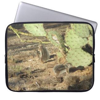 チューソンの砂漠のリス ラップトップスリーブ
