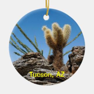 チューソンアリゾナの記念品 セラミックオーナメント