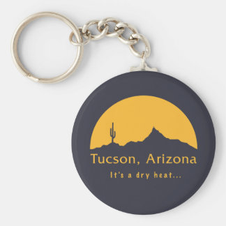 チューソン、アリゾナ-それは乾燥した熱…です キーホルダー