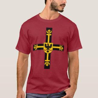 チュートンの騎士十字のワイシャツ Tシャツ