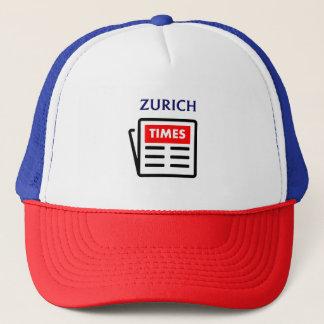 チューリッヒはトラック運転手の野球帽の帽子を時間を計ります キャップ