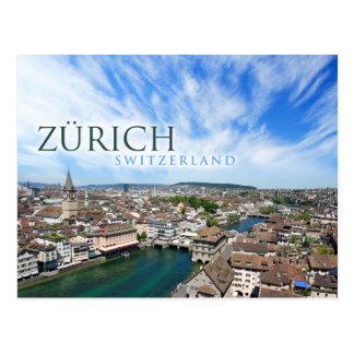 チューリッヒスイス連邦共和国 ポストカード