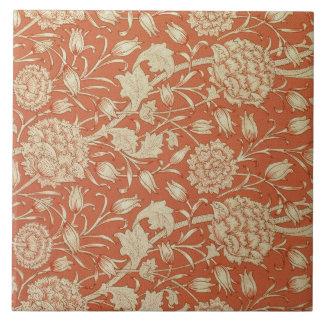 チューリップの壁紙のデザイン1875年 タイル