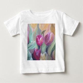 チューリップの束 ベビーTシャツ