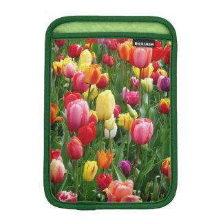 チューリップの花のカラフルな分野、iPad Miniスリーブ iPad Miniスリーブ