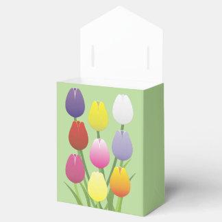 チューリップの花 フェイバーボックス