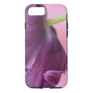 チューリップの花、Kuekenhofの下側のクローズアップ iPhone 8/7ケース