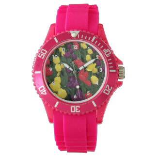 チューリップの虹 腕時計