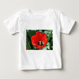 チューリップの認識 ベビーTシャツ