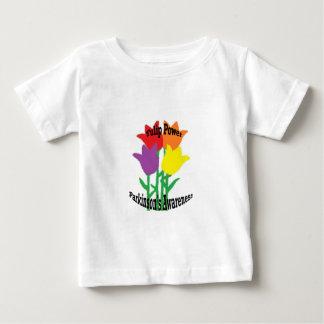 チューリップ力 ベビーTシャツ
