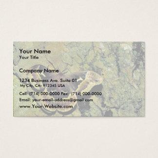 チューリップ木の絹ガ 名刺