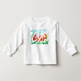 """""""チューリップ物語"""" トドラーTシャツ"""