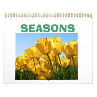 チューリップ、季節 カレンダー
