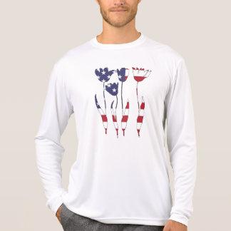 """チューリップ""""米国旗"""" Tシャツ"""