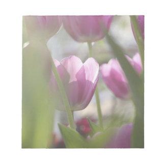 チューリップ、Keukenhoffの庭、ネザーランド ノートパッド