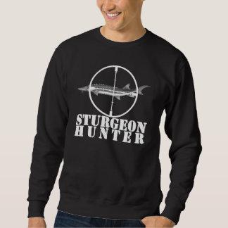 チョウザメのハンターの丸首のセーターの暗闇 スウェットシャツ