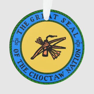 チョクトー族のシールの装飾 オーナメント