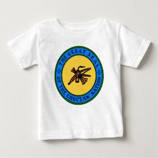 チョクトー族のシール ベビーTシャツ