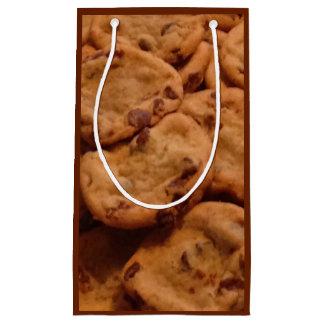 チョコチップクッキーの写真のギフトバッグ スモールペーパーバッグ