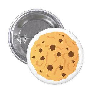 チョコチップクッキーボタン 3.2CM 丸型バッジ