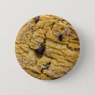 チョコチップクッキー 5.7CM 丸型バッジ