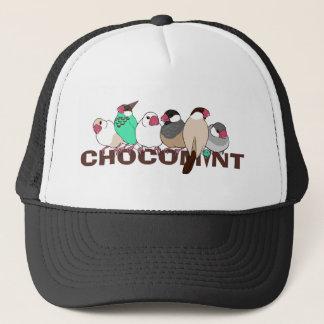 チョコミント 文鳥 キャップ