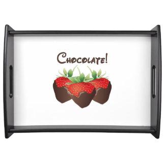 チョコレートいちご トレー
