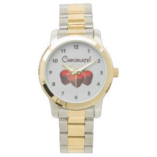 チョコレートいちご 腕時計